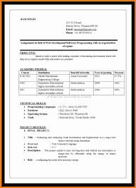 9 Resume Format Download In Ms Word For Fresher Forklift Resume