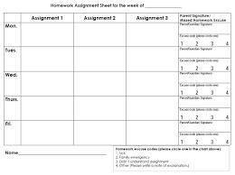 Free Homework Planner Weekly Homework Planner Sheet College Students Essay