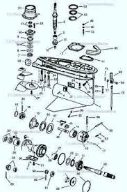 Omc Stern Drive Propeller Chart Omc Parts Exploded View Drawings Outdrive Repair Help Video