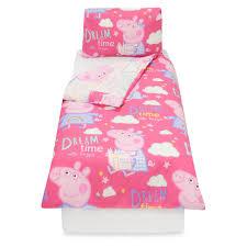 Peppa Pig Bedroom Stuff Peppa Pig Dreams Toddler Bedding Range Bedding George At Asda