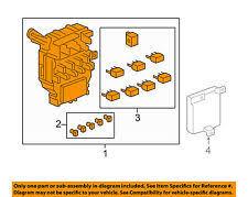 honda ridgeline car truck interior switches controls honda oem 09 14 ridgeline electrical fuse relay box 38200sjca14 fits honda ridgeline