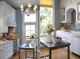 Small Stainless Steel Islands For The Space Savvy Modern Kitchen