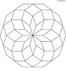Kleurplaten Van Bloemen Mandala Archidev