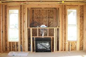 fireplace chase insulation
