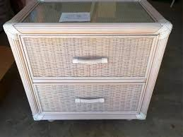 white patio furniture. Top 40 Supreme White Wicker Patio Furniture Outdoor Industrial Nightstand Bedroom Night Stands Flair E