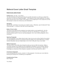 Cover Letter Referral Referral Cover Letter Template In Word And Pdf Formats