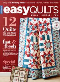 Best Quilting Magazines, New Quilt Books You'll Love - The ... & Quick View · Easy Quilts Winter 2017 Digital Edition ... Adamdwight.com