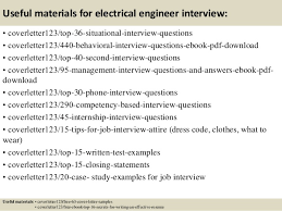 engineering cover letters top 5 electrical engineer cover letter samples