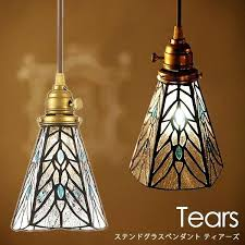 stain glass pendant interior tears stained glass pendant aw 1 4 a art work studio