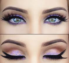 best eyeshadow for eye color purple faviana