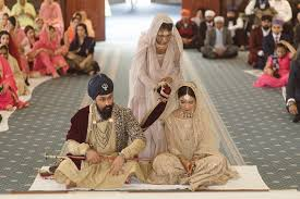 sikh punjabi weddings anand karaj