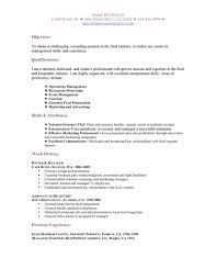 Cover Letter Waiter Resume Example Resume Example For Waiter