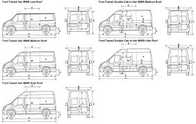 ford transit connect lwb high roof dimensions 12 300