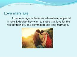 love marriage vs arrange marriage love marriage advantages