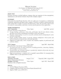 Fancy Idea Secretary Resume 5 Best Legal Secretary Resume Example