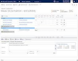project management for dynamics crm microsoft dynamics crm  consolidated summary of project tasks resource assignments statuses and budget gantt chart and timeline of assigned project tasks and resources time