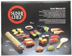 sushi chef sushi making kit gourmet seafood gifts grocery gourmet