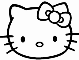 Kleurplaat Hamster Fris Hello Kitty Coloring Printables Thinking For