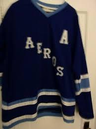 K1 Hockey Jersey Size Chart Custom Name Houston Aeros Retro Hockey Jersey New