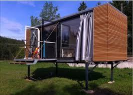 portable tiny house on stilts