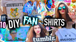 10 diy tumblr inspired t shirts fan edition easy graphic t