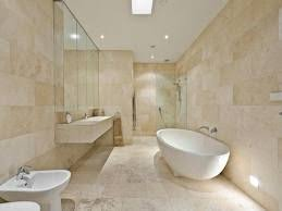 travertine bathroom pictures - I love this and would like to have it heated  if possible