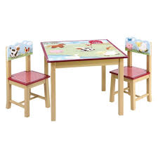 furniture childs table and chairs elegant dining set childs wooden table kidkraft farmhouse table and
