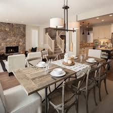 Rustic Dining Room Table Plans Rustic Dining Room Decorating Ideas At Alemce Home Interior Design