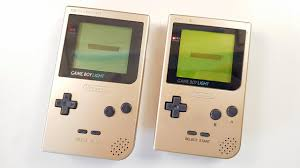 Game Boy Light Official Gameboy Light Vs Modded Gameboy Pocket