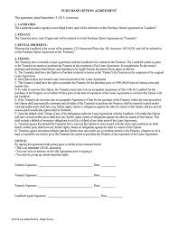 lease purchase contract. Delighful Contract Lease Option Agreement  Purchase And Contract A
