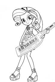 Equestria Girls Drawing At Getdrawingscom Free For Personal Use