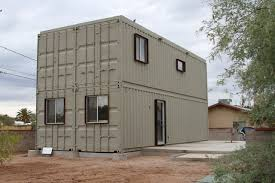 Tucson Steel Shipping Container House
