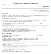 Phlebotomy Resume Sample Entry Level Resume Sample Resume Example ...