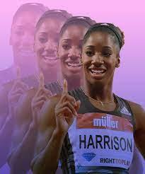 Makes Olympian Keni Harrison feel Powerful