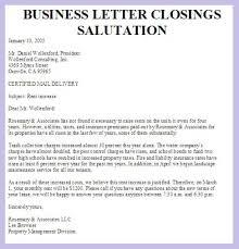 business letter salutation salutations of a letter salutations for letters