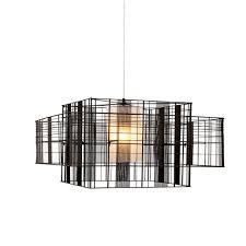 Mesh Pendant Light Pendant Lamp Contemporary Metal Cube