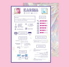 Girly Resume Templates Creative Cv Cv Cv Templates Free Cv Template Infographic Cv 3