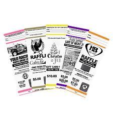 raffle tickets printing raffle tickets myzone printing