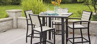 Inspirations Bar Style Patio Furniture And Bamboo Patio Furniture Outdoor Pub Style Patio Furniture