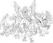 Small Picture DRAGON Coloring Pages Free Printable