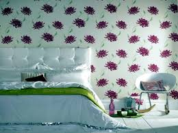 Small Picture Wallpaper Wall Designs Home Design Ideas