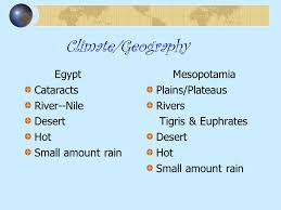 Compare And Contrast Mesopotamia And Egypt Compare Contrast Ancient Civilizations Ppt Video Online Download