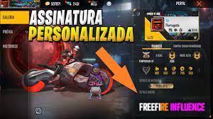 GERADOR DE ASSINATURAS PERSONALIZADAS PARA FREE FIRE - FREEFIRENEWS