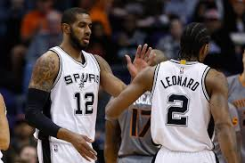 Kawhi Leonard and LaMarcus Aldridge make the Spurs look different ...