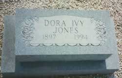 Dora Ivy McDaniel Jones (1897-1994) - Find A Grave Memorial