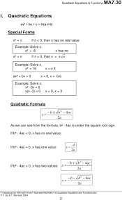 outstanding solving quadratic equations by formula worksheet doc tessshlo p the quadratic formula worksheet worksheet um