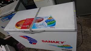 tủ đông sanaky 250 lít 2 ngăn riêng biệt 3999w1 - chodocu.com