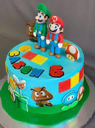 Uploaded by birthday under birthday 1051 views . Super Mario Birthday Cake Skazka Desserts Bakery Nj Custom Birthday Cakes Cupcakes Shop