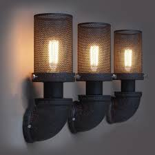 warehouse style lighting. Diy Industrial Wall Light Sconce Cover Vintage Warehouse Style Lighting H