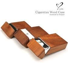 benbe life life wood leather cigarette case box for box 100 s nanotek nanotec container leather vintage wild fashionable wood bespoke handmade hand made